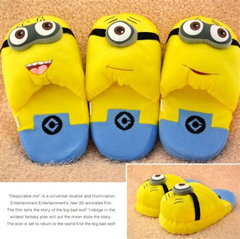 minion sneakers for adults 2015 autumn and winter slippers home