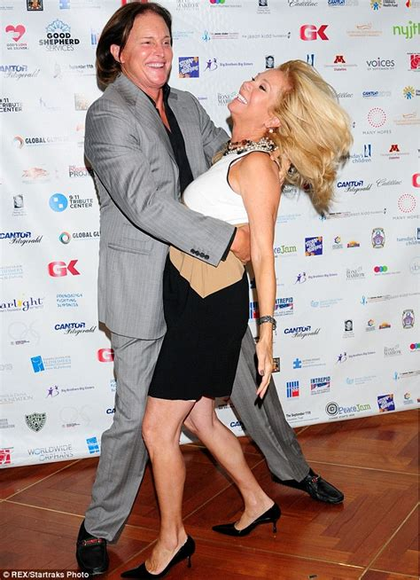 kathie lee gifford now bruce jenner dances with kathie lee gifford as kris