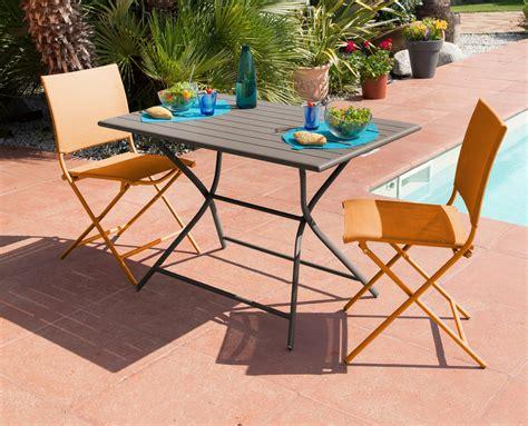 Table Jardin Couleur by Table Jardin Metal Couleur Bricolage Maison Et D 233 Coration