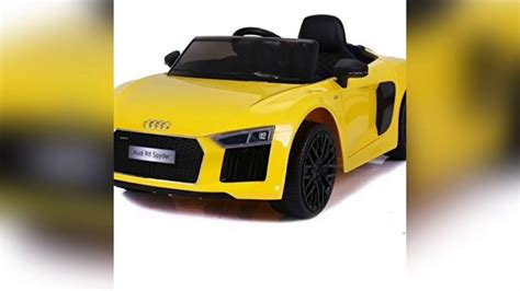 Ride On Audi R8 by Audi R8 Spyder Ride On Car Assembling Video Youtube