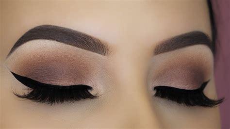 tutorial makeup matte easy brown matte eye makeup tutorial thefashionhob