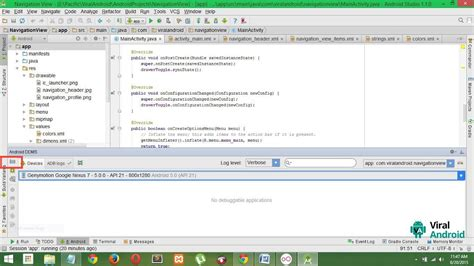 android tutorial 5 ui design in android studio youtube how to take screenshot of android application in android