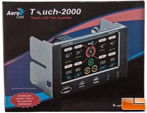 best fan controller aerocool touch 2000 lcd fan controller review legit