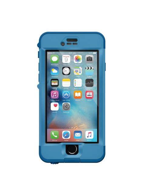 lifeproof nuud coque antichoc et 201 tanche pour iphone 6s bleu coquediscount