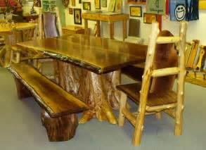 Cedar Dining Room Table Rustic Log Table Rustic Log Cabin Furniture Cedar Log Furniture