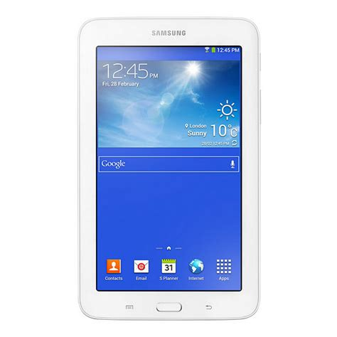 Samsung Galaxy Tab 3 Lite Second samsung galaxy tab 3 lite 7 quot 8gb ve blanca tablet