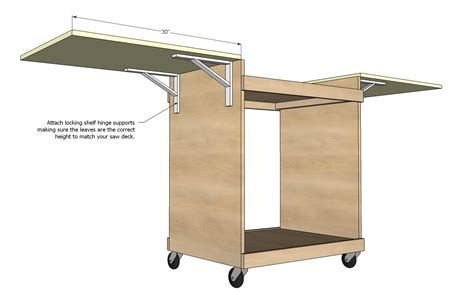 table saw stand plans free woodworking plans miter saw stand bert