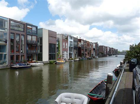 house on Borneo Sporenburg in Amsterdam, Netherlands