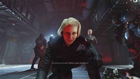 wolfenstein ii the new 0744018307 wolfenstein ii the new colossus pc frau engel captures blazkowicz wyatt caroline youtube