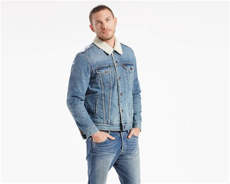 Hoodiejumpersweaterjacket Levis the sherpa trucker jacket buckman levi s 174 united states us