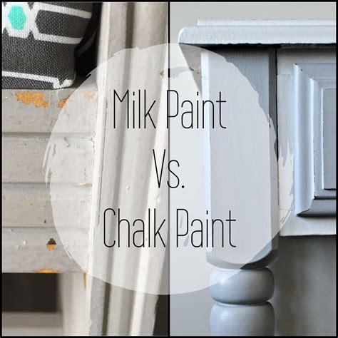 chalk paint vs chalkboard paint chalk paint vs milk paint hashtagblessed