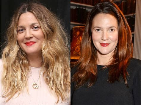 drew barrymore hair color drew barrymore from changing hair color e news