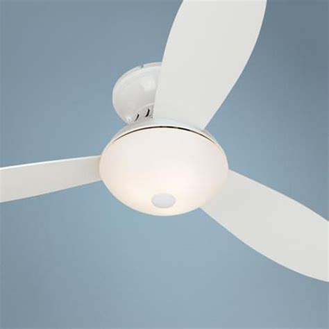 white hugger ceiling fan with light and remote 1000 images about white ceiling hugger fans on pinterest