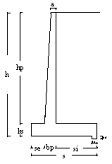 muro di sostegno a mensola muro di sostegno in cemento armato