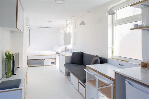 square foot micro apartment accommodates