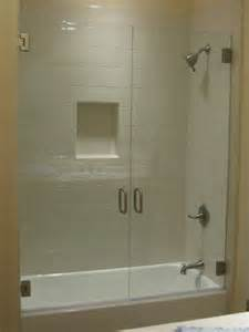 glass wall to replace shower curtain 3 crib
