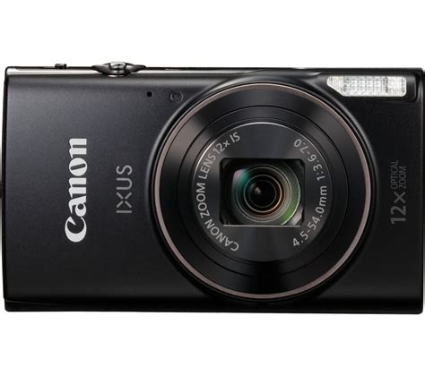 best canon compact canon ixus 285 hs compact black deals pc world