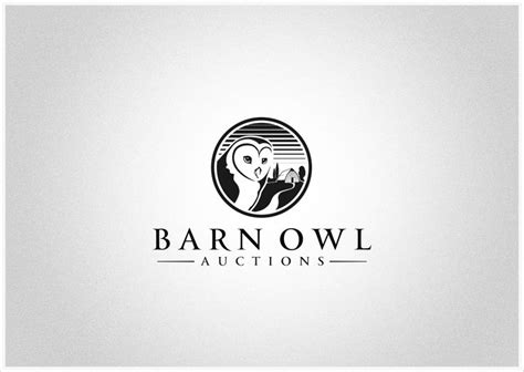 Barn Owl Logo 1000 images about owl logos on logo design animal logo and owl illustration