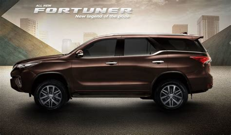 All Toyota All New Toyota Fortuner 2014 Car Interior Design