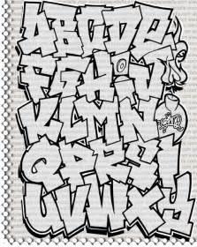 l alphabet en tag