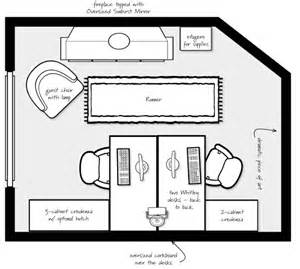 Home Office Layout Planner Tiny Home Office How To Fit Two People How To Decorate