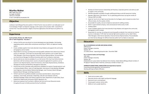 sle resumes page 9 collection of free sle resume exles