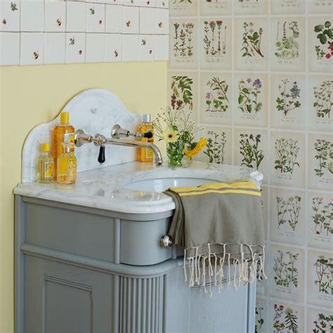 botanical bathroom botanical theme small bathroom ideas housetohome co uk
