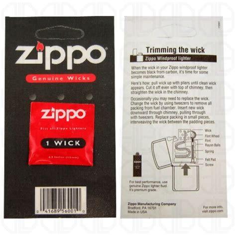 Refill Sumbu Zippo Zippo Genuine Wick zippo genuine replacement wick