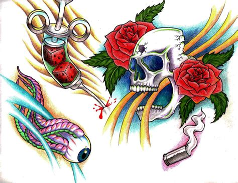 tattoo flash drawings tattoo flash by godwin3265 on deviantart