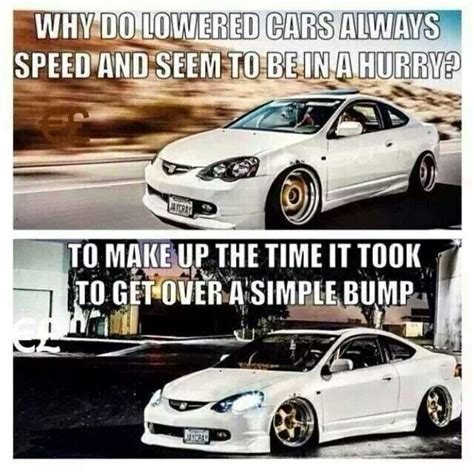 lowered cars and speed bumps lowered car speed bump quotes quotesgram