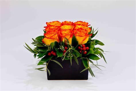 Floral Arrangement Ideas by Compact Rose Arrangement Jacobsen S Flowers Amp Gift Baskets