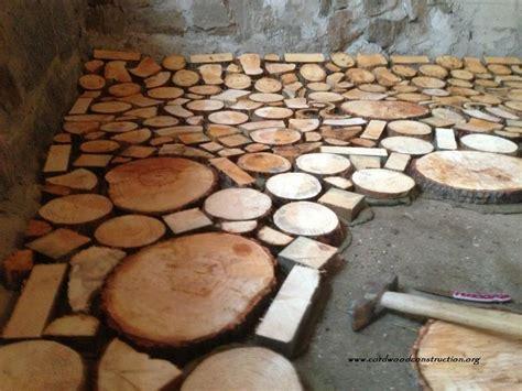 Cord Wood Floor by Cordwood Cordwood Flooring In Prague Cordwood