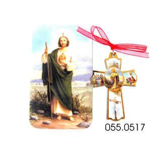 imagenes de cruces judias cruces imitacion madera san judas tadeo 5 5cm