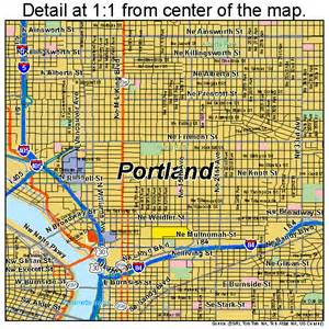 portland oregon streetcar map maps of portland oregon