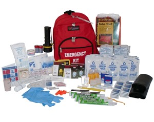 home earthquake kit 72 hour survival kit 2 person 3 day emergency supply