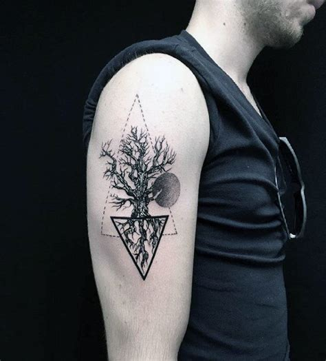 60 tree roots tattoo designs for men manly ink ideas