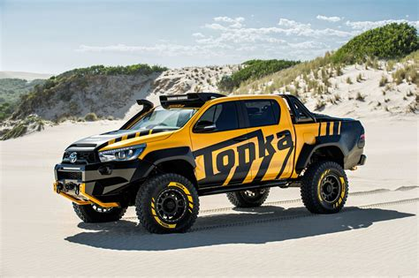 Is A Toyota Hilux A Commercial Vehicle News Toyota Hilux Concept Is A Size Tonka Truck