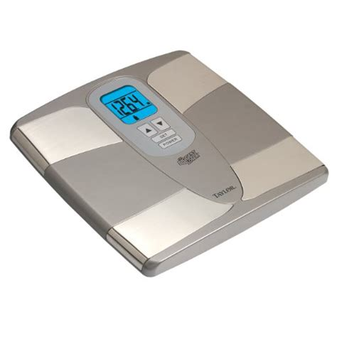 taylor bathroom scale manual taylor body fat analyzer and scale 5557 manual