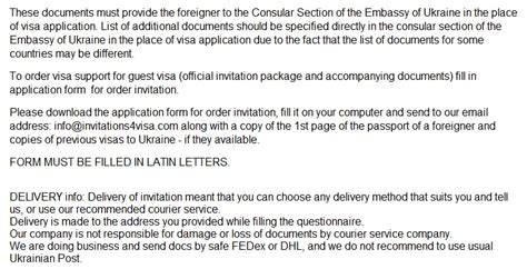 ukraine business visa invitation letter business invitation letter to ukraineinvitation for visa