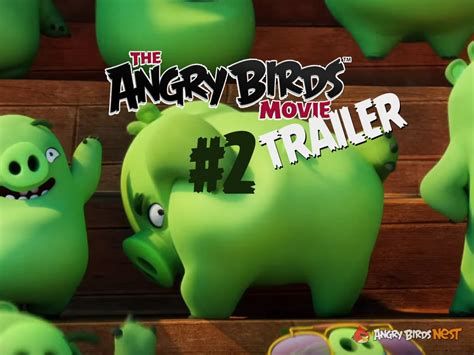 Second Boneka Leonard Pig the second official angry birds trailer is out tip don t drink the water angrybirdsnest