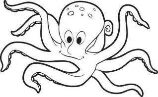octopus coloring pages getcoloringpages