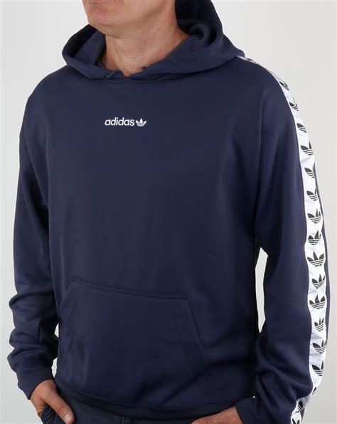 Sleeve Hoodie Adidas D 01 Grosir adidas originals tnt hoody trace blue white hooded track top mens