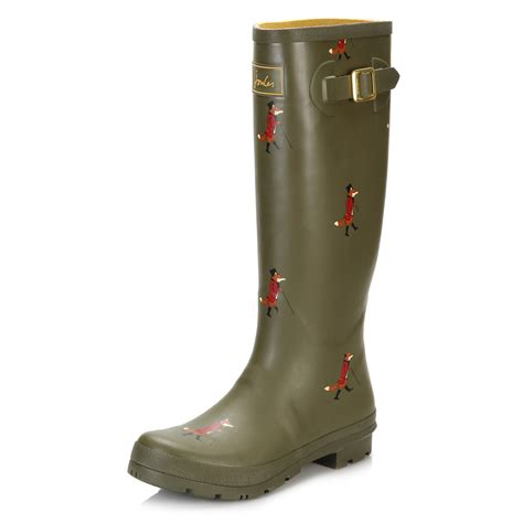 joules womens boots joules womens wellington boots blue green black wellies