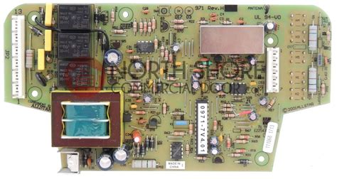 Allstar Garage Door Opener Circuit Board 110930 by Allstar Mvp Garage Opener Motor Board 111068