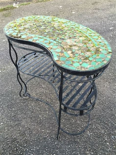 vintage potting bench for sale vintage mosaic greenhouse potting bench table garden