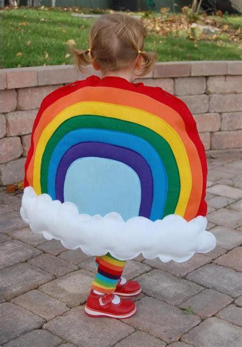 disfraz casero para beb s de arcoiris disfraces caseros y disfraz arco iris en fieltro