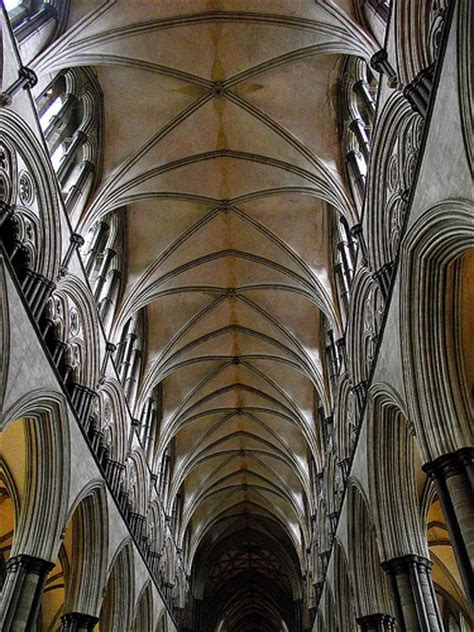 Rib Vaulted Ceiling by Rib Vault Ceiling Salisbury Cathedral Flickr