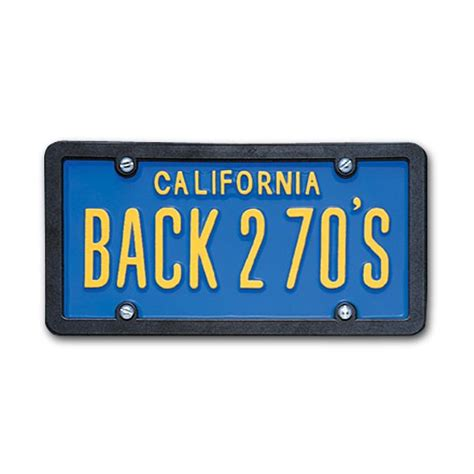 usa custom order license plate california blue