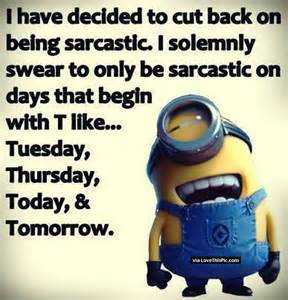 sarcastic thanksgiving sayings sarcastic minion pictures photos and images for facebook