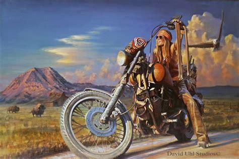free scooter painting free spirit harley davidson vintage motorcycle and